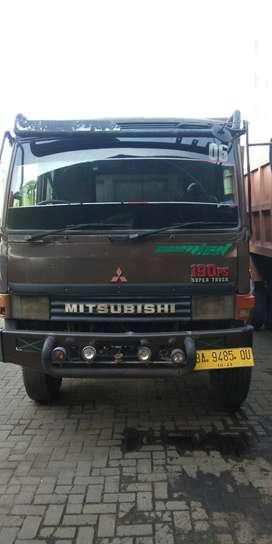 Mitsubishi Fuso FM 517 F Short Dump Truck Tahun 1995