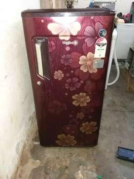 Whirlpool fridge 185 litre
