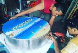 Neon Box Promo Neon Box Acrylic Neonbox Out Door Indoor Denpasar Bali