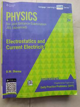 Cengage Electrostatics for Jee-Main and Advanced