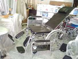 Kursi roda lansia 3in1 selonjor tiduran bab