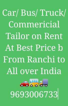 Car / Taxi On Rent with Driver Local Or Outstation Shadi From Ranchi