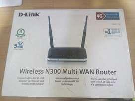 Dlink - Wirelss N300 Multi-WAN Router (NEW)
