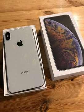 iphone XS MAX 256gb silver Dual Sim Nano