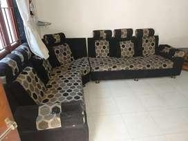 Six sitter sofa
