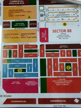 1 Kanal East Facing Plot in Sector 88 Mohali Near to Patk