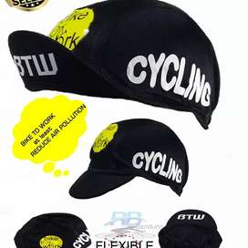 Cycling cap topi sepeda Bike to work