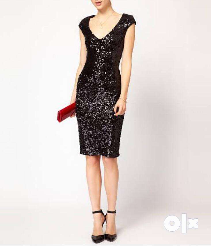 Black FCUK brand cocktail dress 0