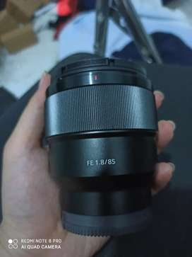 Lensa Sony FE 85mm F1.8 SEL85F18 Garansi resmi sony