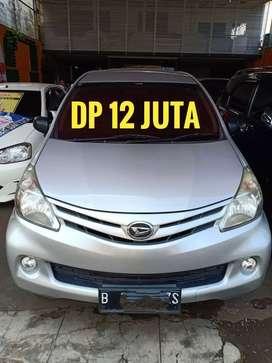 Daihatsu Xenia X 2012 manual silver Dp 12 JUTA