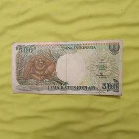 UANG KUNO 500 Rupiah (1992)