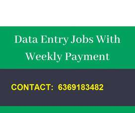 Simple Work from Home excel  typing jobs