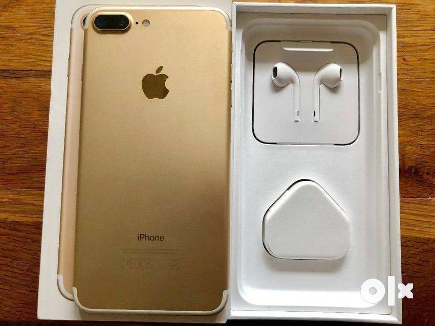 i phone 7 plus is available with box and all accessories are available 0