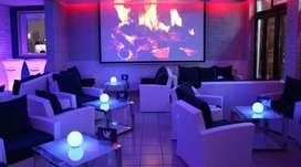 Running Furnished Hookah cum Restaurant on Rent on Hazra