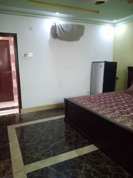 Fully furnished room availble for in near main road main market