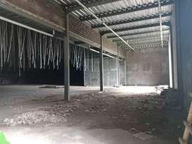Disewakan gudang proses finishing