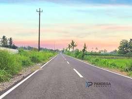 Jual Tanah 2117m2 Tepi Jalan Lebar Cocok Villa Akses Jl Palagan Km.15