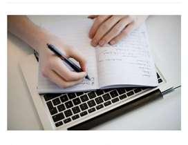 Home based work for handwriting job work