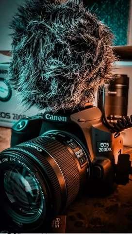 Canon EOS 200 d mark 2