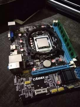 Mother board H61 plus processor G620