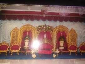 Set gebyok & Meja kursi Mante