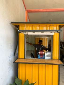Box container bekas pakai