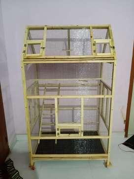 Love birds pincers Cage