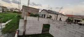 Jual Cepat Tanah+Bangunan Rumah Baru Naik Batu T 1m