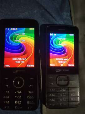 Two phone of Micromax