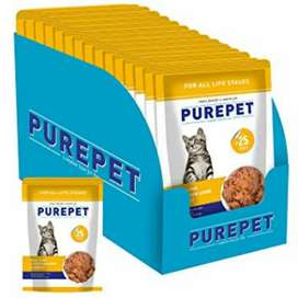 Purepet wet cat food