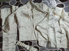 Kids coat pant set