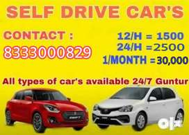 Monthly rent or self drive also available
