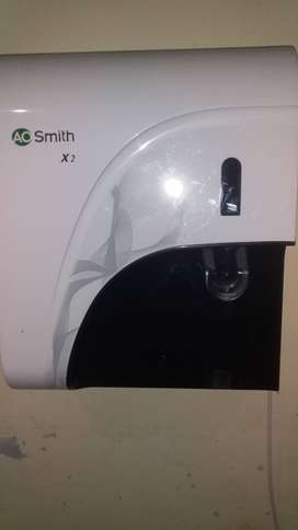 A.O Smith X2,water purifier with UV and UF with sediment filter.