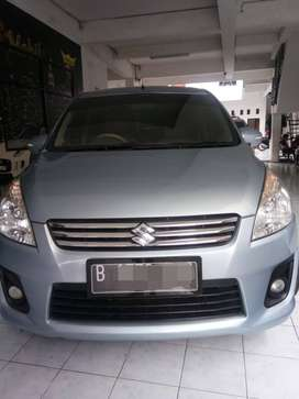 Suzuki Ertiga GX 2013 Automatic Biru Low Km Good Condiition