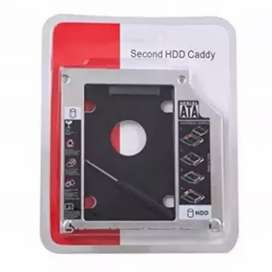 Slim 2nd Hard Drive disk HHD/SSD CD Room Caddy for Laptop notebook