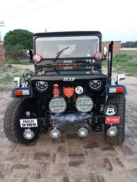 Open modified Hunter Willys jeeps