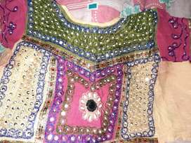 Lehenga chunni set for 7-10 yr old girl