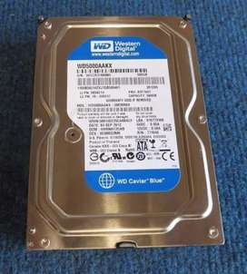 WD 500GB hardisk