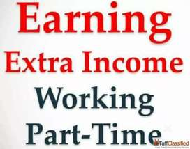 Backoffice work at home extra earn money