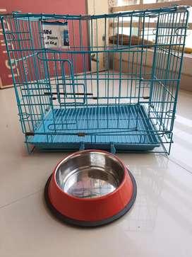 Pets folding cage