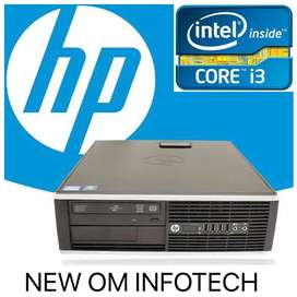 HP i3 CPU / 4GB RAM / 500GB HDD / WARRANTY ALSO / DVD WRITER /CALL NOW