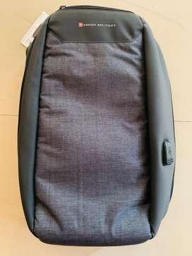 Swiss antiheft backpack bag