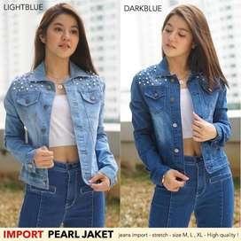 Dijual Jaket Jeans motek