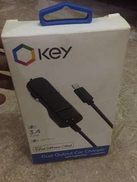 Car charger for Iphone plus android phone