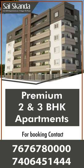 3bhk luxury flats are avilable