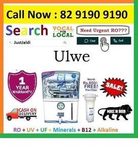 Ulwe RO +UV+UF+Minerals+Vitamin Aqua Grand 12L  Cash On Delivery. Free