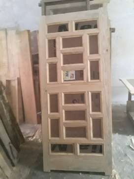 Doors of imported wood rs 100 per foot