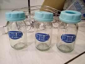 Botol asi kaca murah merk RBS 120ml