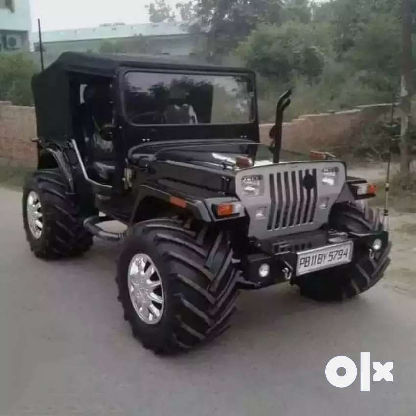 Full modified Jeep ready your booking All States transfer facilitiesl 0
