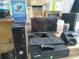Komputer Kasir lengkap siap pakai dgn system ipos siap membantu anda